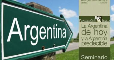 Seminario «La Argentina de hoy y la Argentina predecible» (2012)