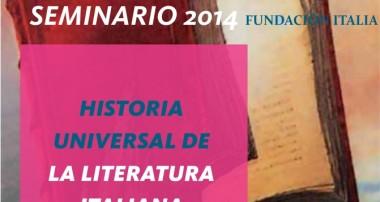 "Seminario «Historia Universal de la Literatura Italiana"" (2014)"