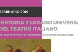 "Seminario ""Historia Universal de la Literatura Italiana"" (2019)"